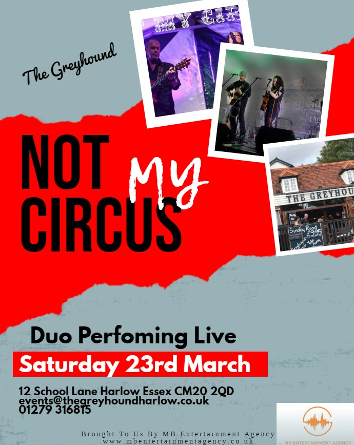 not my circus march - Made with PosterMyWall